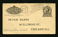 View Pneumatic mail fake postal reply card digital asset number 0