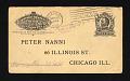 View Pneumatic mail fake postal reply card digital asset number 2