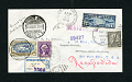View Los Angeles-Mexico City-Newark flight cover signed by Amelia Earhart digital asset number 0