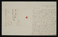 View Folded letter by US Navy Surgeon David Shelton Edwards digital asset number 2