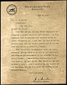 View Taussig US first airmail flight signed by Woodrow Wilson cover and letter digital asset number 1