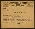 View Telegram from Jordan on September 6, 1918 digital asset number 0