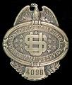 View RMS clerk chest badge, number 4098 digital asset number 0