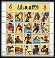 View 32c 1996 Summer Olympic Games pane of twenty digital asset number 0