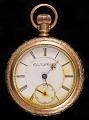 View Sea Post Clerk John Starr March's pocket watch digital asset number 0