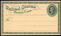 View 1c Liberty postal card trial color proof digital asset number 0