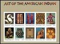 View 37c Art Of The American Indian pane of ten digital asset number 0