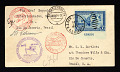 View $1 Duck Stamp on Graf Zeppelin South America Flight Catapult combination cover digital asset number 0