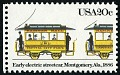 View 20c Early Electric Streetcar single digital asset number 1