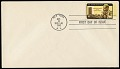 View 4c Dag Hammarskjold invert on first day cover digital asset number 0