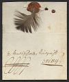 View Swedish feather letter digital asset number 0