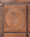 View 5c Jefferson Davis De La Rue Confederate printing plate digital asset number 4