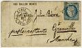 View Folded letter from Paris office at Place de la Bourse digital asset number 0