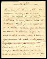 View Folded letter from Paris office at Place de la Bourse digital asset number 2