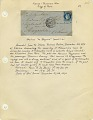 View Folded letter from Paris office at Rue de Bondy digital asset number 3