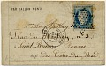 View Folded letter from Paris central office digital asset number 0