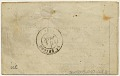 View Folded letter from Paris central office digital asset number 1