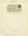 View Folded letter from Paris office at Rue Bonaparte digital asset number 3