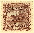 View 2c Post Rider and Horse re-issue single digital asset number 1