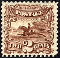 View 2c Post Rider and Horse re-issue single digital asset number 2