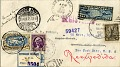 View Los Angeles-Mexico City-Newark flight cover signed by Amelia Earhart digital asset number 2