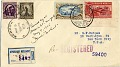 View Mexico-New York flight cover signed by Amelia Earhart digital asset number 2