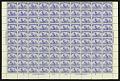 View 4c ultramarine Fleet of Columbus sheet of one hundred digital asset number 0