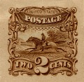 View 2c Post Rider and Horse Panama-Pacific small die proof digital asset number 0