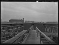 View Dr. G. Howard White collection digital asset: [Liebig Factory] [glass negative]: a view of factory buildings.