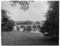 View [Miscellaneous Sites in Scotland]: Kelso Bridge across the river Tweed. digital asset: [Miscellaneous Sites in Scotland] [glass negative and lantern slide]: Kelso Bridge across the river Tweed.