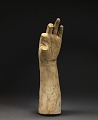 "View Life Cast of Left Forearm and Hand (fragment, study for ""Greek Slave"") digital asset number 0"