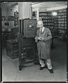 View Peter A. Juley & Son collection digital asset: Paul P. Juley in his New York West 57th Streeet studio