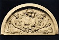 View St. Bartholomew's Church Doors, North Portal Tympanum (study) [sculpture] / (photographed by De Witt Ward) digital asset number 0