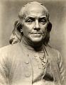 View Benjamin Franklin (detail view) [sculpture] / (photographed by De Witt Ward) digital asset number 0