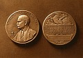 View Charles A. Coffin Medal [sculpture] / (photographer unknown) digital asset number 0