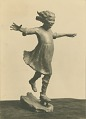 View Girl Skating [sculpture] / (photographed by R. V. Smutny) digital asset number 0