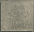 View Mr. and Mrs. John Joseph Albright Plaque [sculpture] / (photographer unknown) digital asset number 0