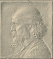 View Medal (Unidentified Man in Profile) [sculpture] / (photographer unknown) digital asset number 0