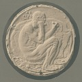 View Medal (Male Figure with Chisel) [sculpture] / (photographer unknown) digital asset number 0
