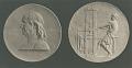 View Benjamin Franklin Medal [sculpture] / (photographed by De Witt Ward) digital asset number 0