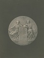 View Hispanic Society of America Medal (obverse) [sculpture] / (photographer unknown) digital asset number 0