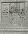 View Benjamin Franklin (detail of one of the pedestal reliefs) [sculpture] / (photographer unknown) digital asset number 0