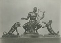 View Orpheus and Two Cubs [sculpture] / (photographed by De Witt Ward) digital asset number 0