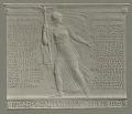 View World War I Memorial Tablet [sculpture] / (photographed by A. B. Bogart) digital asset number 0