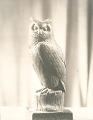 View Rainey Memorial Gates: detail of Owl [sculpture] / (photographed by De Witt Ward) digital asset number 0