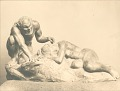 View Satyr and Sleeping Nymph [sculpture] / (photographed by De Witt Ward) digital asset number 0