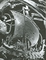 View Celestial Sphere (detail - Figures on Ship) [sculpture] / (photographed by Walter J. Russell) digital asset number 0