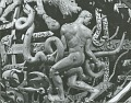 View Celestial Sphere (detail - Ophiuchus and the Serpent) [sculpture] / (photographed by Walter J. Russell) digital asset number 0