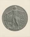 View Czechoslovakian Cause Medal (obverse) [sculpture] / (photographer unknown) digital asset number 0