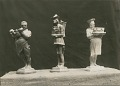 View The Butcher, the Baker, and the Candlestick Maker [sculpture] / (photographer unknown) digital asset number 0